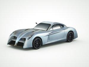 3d panoz abuzzi 2014 model