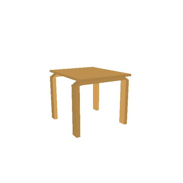 table small 3d model