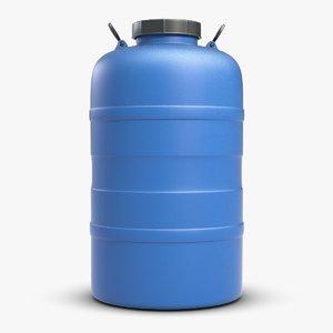 3ds max barrel water tank