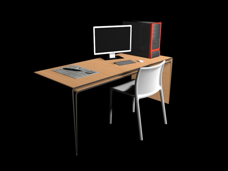 c4d desk desktop