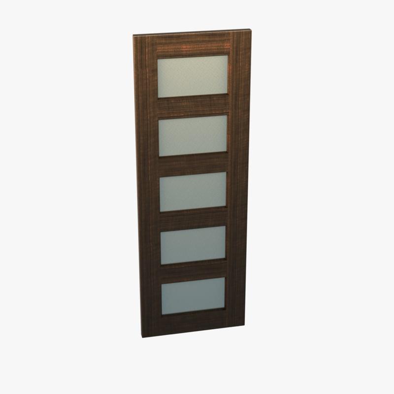 3d model panel door
