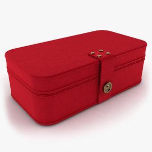 3ds fabric jewelry box