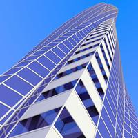 futuristic cityscape max