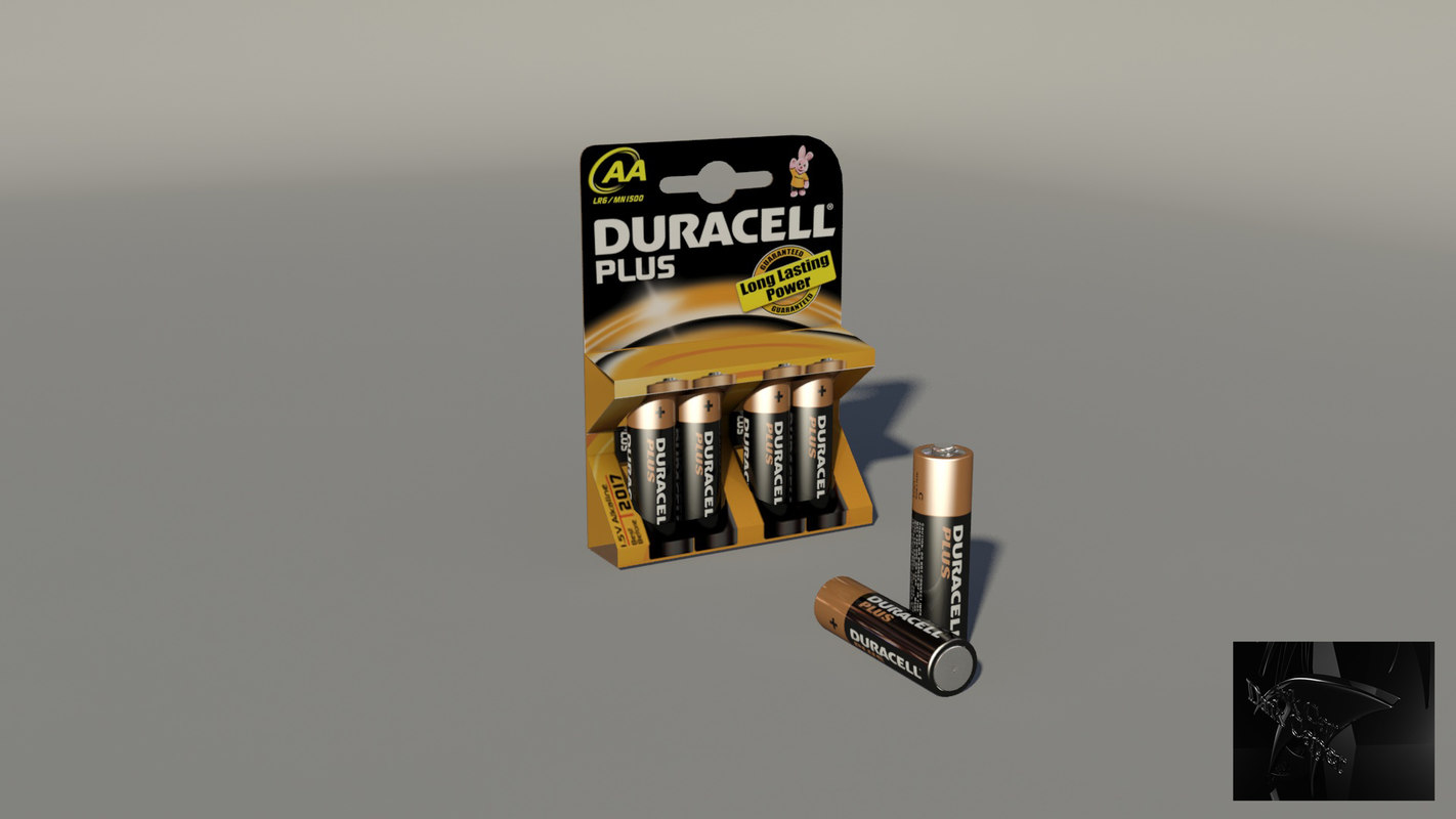 obj duracell battery pack package