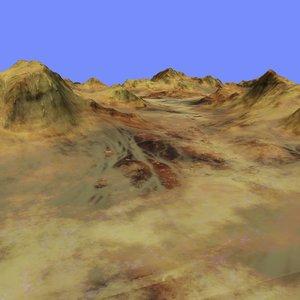3d model terrain alm-03