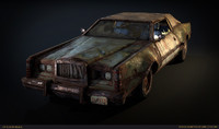Post Apocalyptic Car
