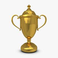 3d model trophy cup 9
