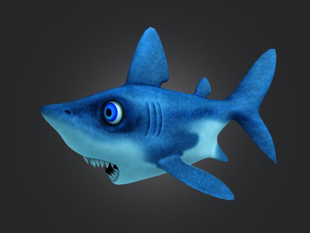 3dsmax shark