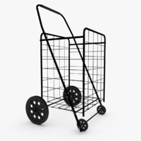 Rolling Utility Shopping Cart