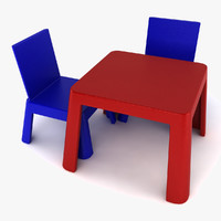 Toy Table And Chairs