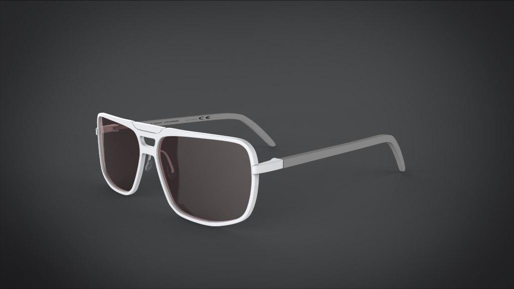 3d model dior sunglass