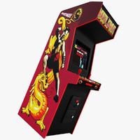 arcade mortal 3d max