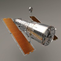 3ds max hubble space telescope