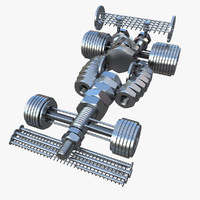3d model bolts nuts formula