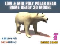 3ds max polar bear ready