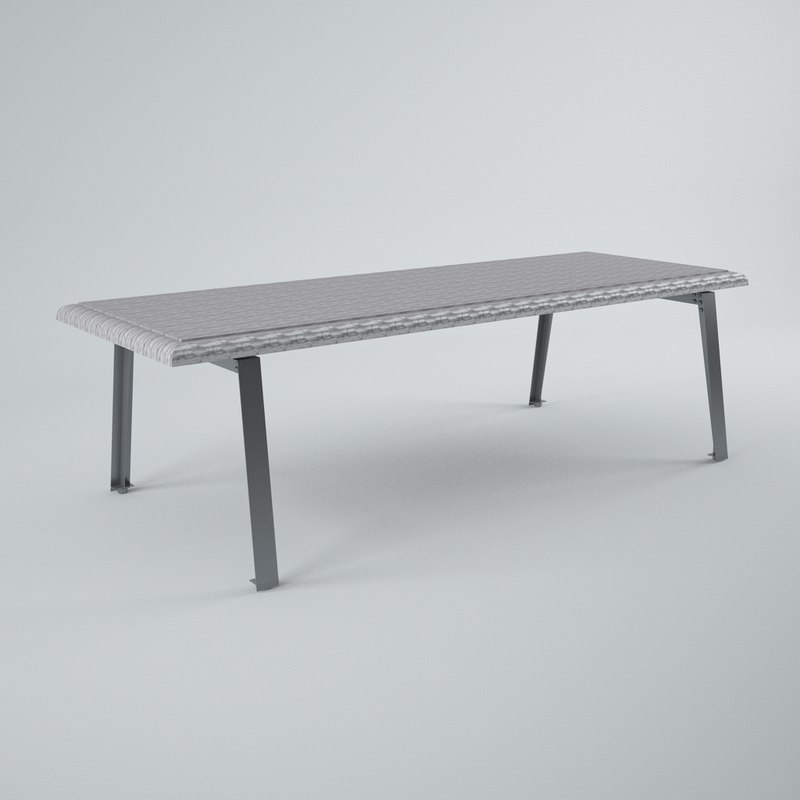 3d hanjel table gustave model