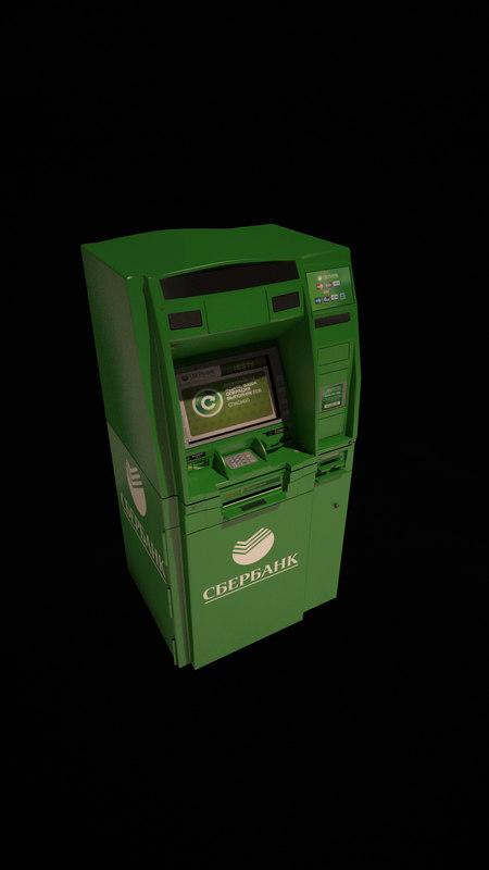 3d atm bank sberbank model