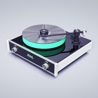 turntable 3d obj