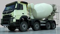 truck Volvo FMX Concrete Mixer