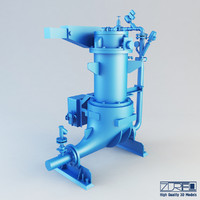 Ash vessel NA pump