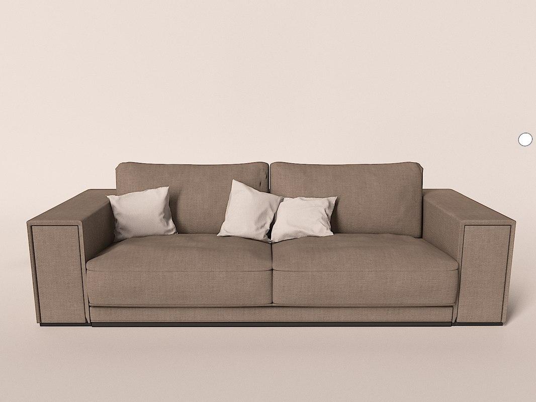 egoiste busnelli sofa furniture 3d model