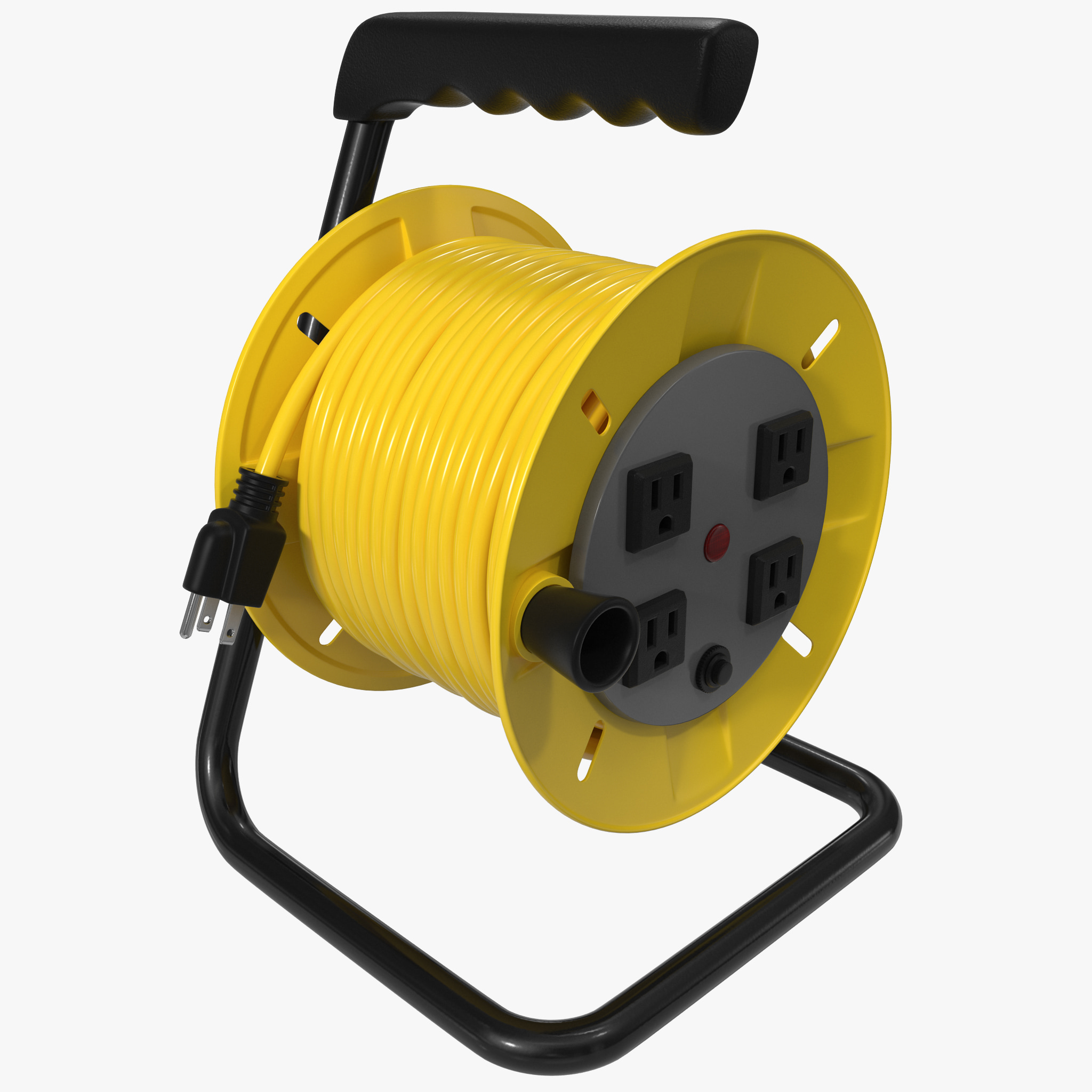 No Extension Cords : Max extension cord reel