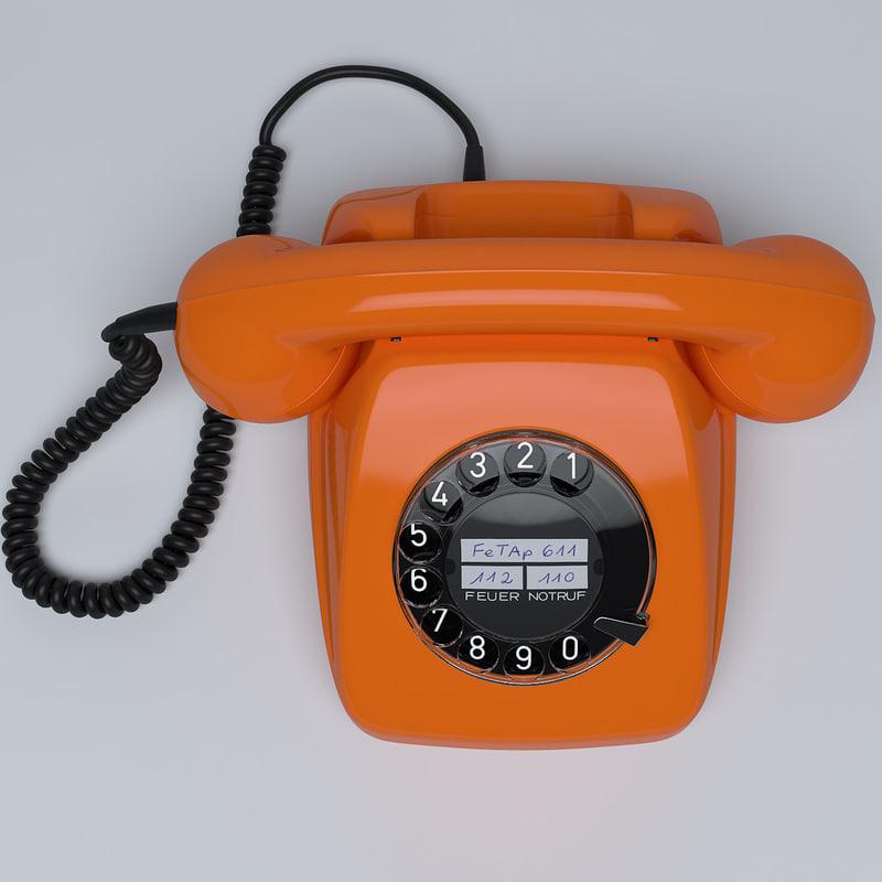 3ds max telephone fetap 611
