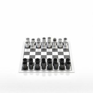 3d model design chess yap