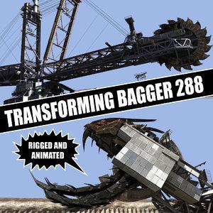 transforming bagger 288 lwo