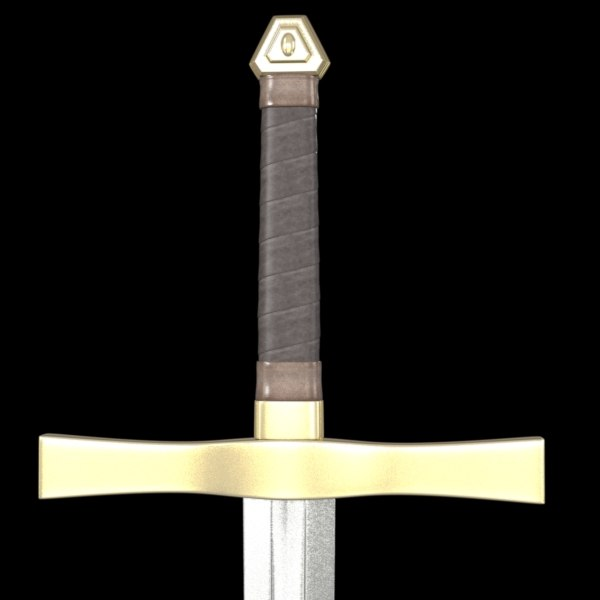 3ds max angelic sword