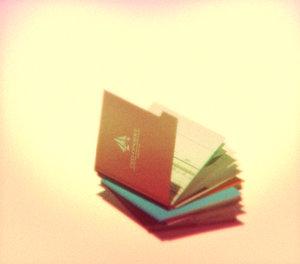 falling stack folders 3d c4d