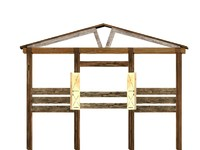 Farm Stall animal pen