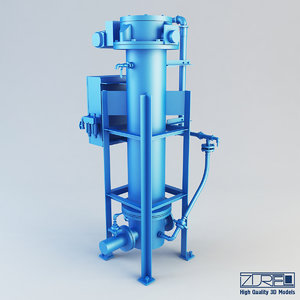 3d model t type pr pump