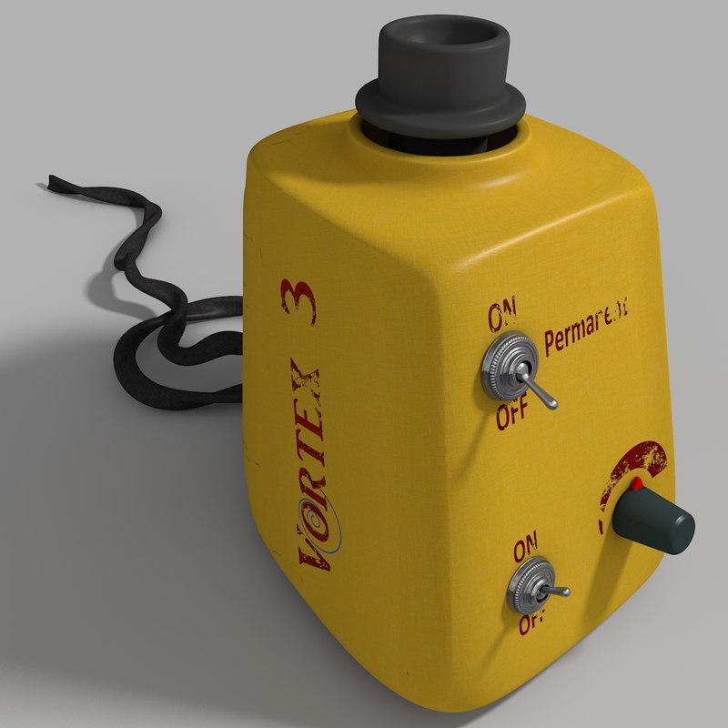 vortex mixer 3d model