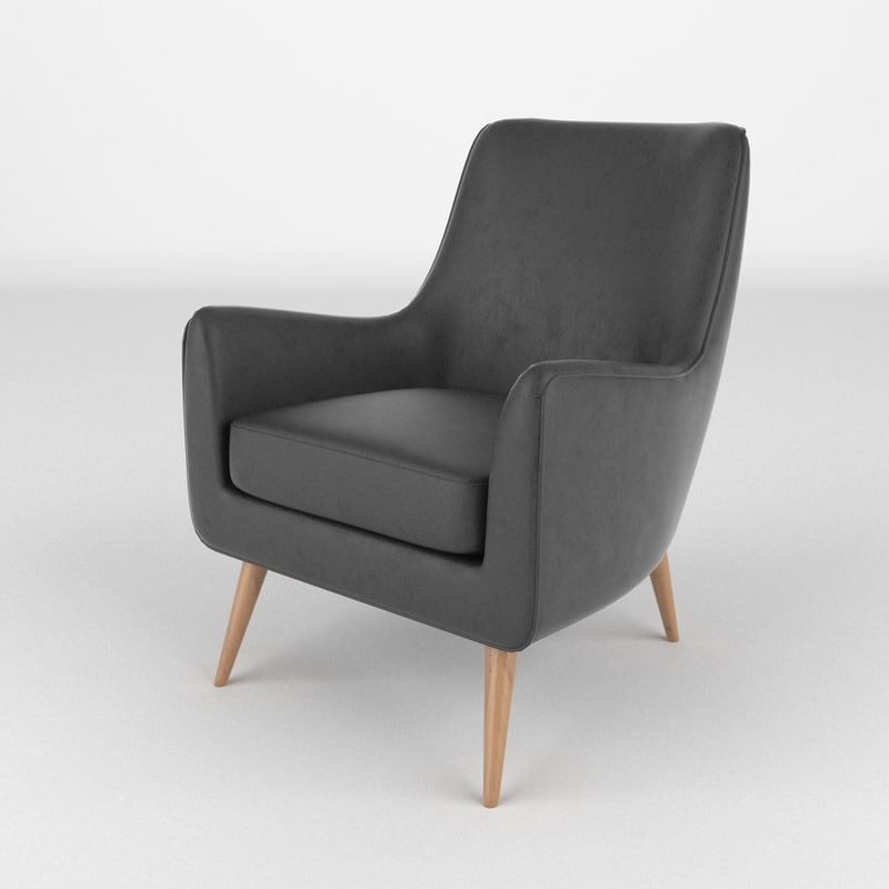 3d model chair realistic