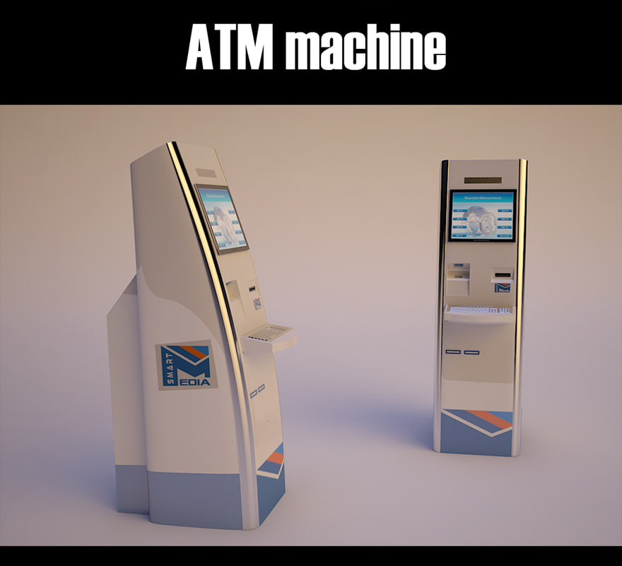 self service atm machine model