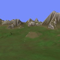 3ds max metay terrain km-04
