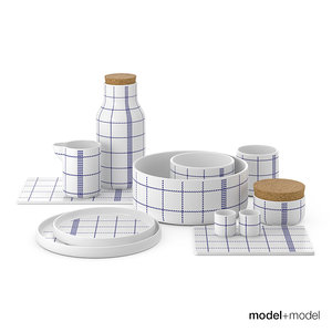 3d max normann copenhagen dinner set