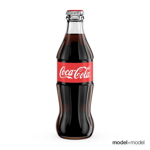coke bottle 3d model free download