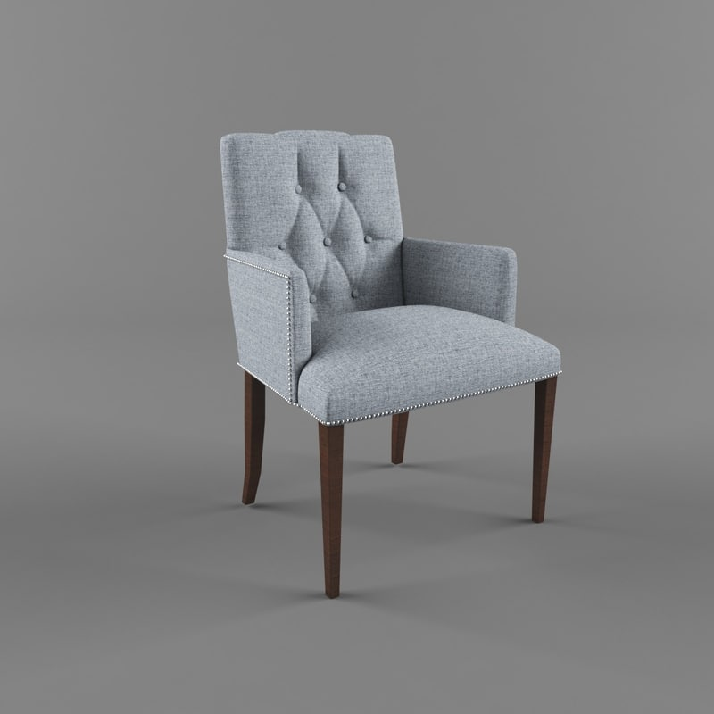 3d model restaurant chair