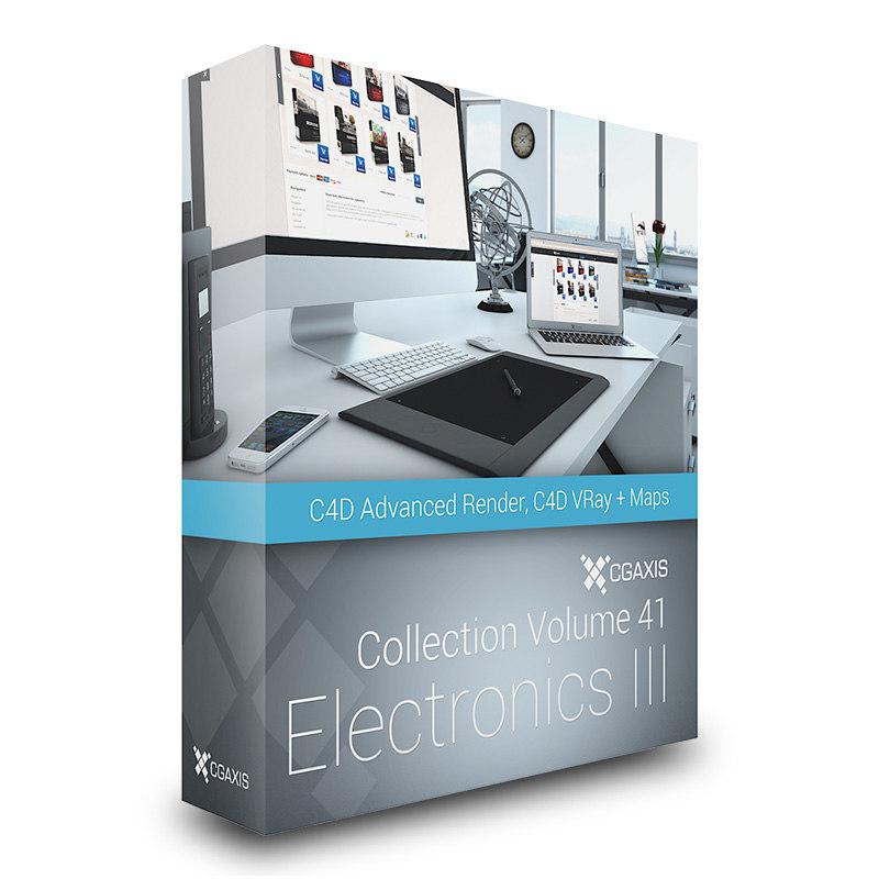 volume 41 electronics iii 3d max