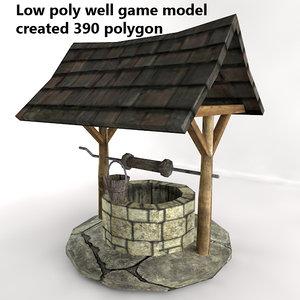water object 3d model