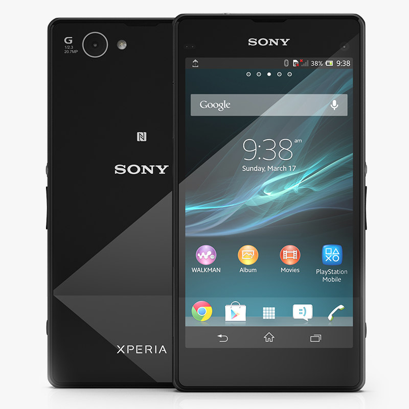 3ds sony xperia z1 compact