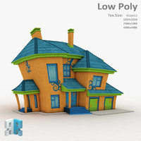 3d model fantasy building