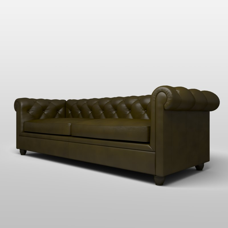 max chesterfield leather sofa