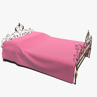 3ds max forged bed