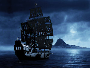 black pearl ship 3d 3ds