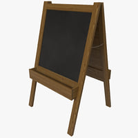 chalkboard 4 3d max