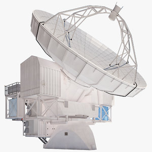 3d model of european southern observatory