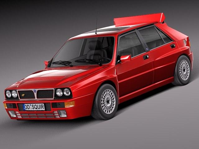 3d car classic sport lancia